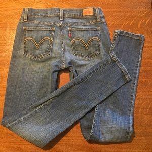 LEVI'S 7-long - 524 too superlow Premium Jeans